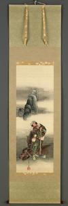 Woodcutter, Edo Period, 1849 by Katsushika Hokusai