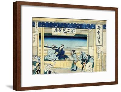 Yoshida on the Tokaido Highway, c.1830