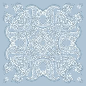 Lace Background: Mandala by Katyau