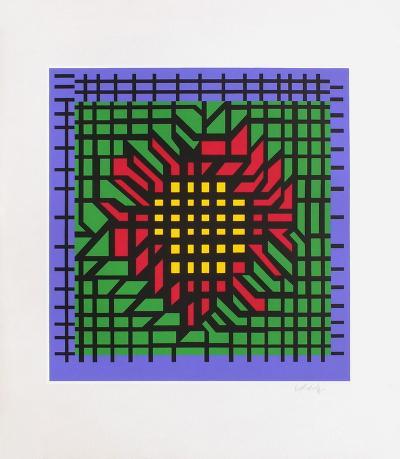 Katzag-Victor Vasarely-Limited Edition