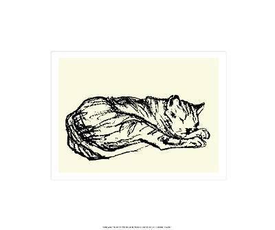 Katzen Detail 1908-Franz Marc-Serigraph
