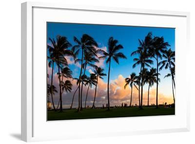 Kauai Sunset-nstanev-Framed Photographic Print