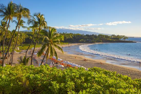 Kaunaoa Beach, Kohala Coast, Island of Hawaii-Douglas Peebles-Premium Photographic Print