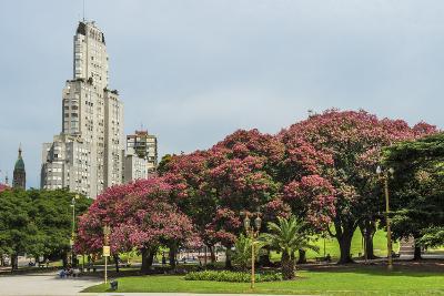 Kavanagh Building, San Martin Park, Buenos Aires City, Argentina, South America-Pablo Cersosimo-Photographic Print