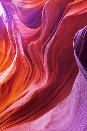 Magic Colors Of Canyon Antelope In The Usa by kavram