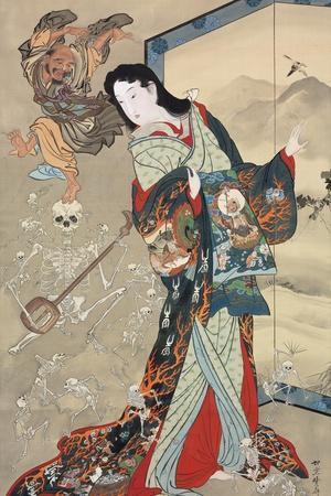 Jigoku Dayu (Hell Courtesan). After 1885