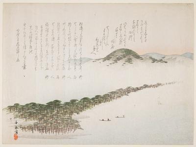 View of Amamo Hashidate, May 1906