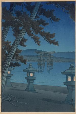 Moonlit Night in Miyajima
