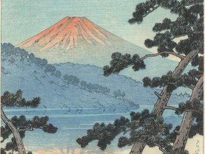 Mount Fuji by Kawase Hasui