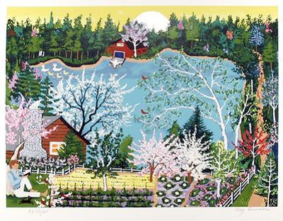 Walden Pond in Spring