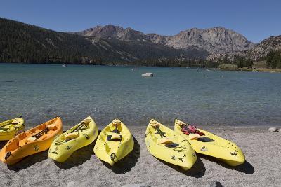 Kayaks - June Lake- Mono County, California-Carol Highsmith-Photo