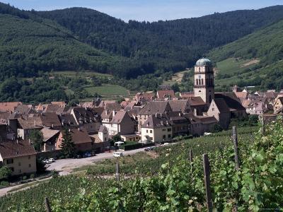 Kayserberg, Alsace, France-Guy Thouvenin-Photographic Print