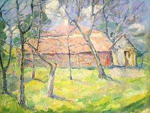 Landscape Near Kiev, 1930 by Kazimir Malevich