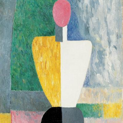 Torso (Figure with Pink Fac), 1928-1932