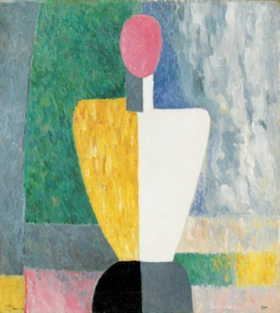 Torso (Figure with Pink Fac), 1928-1932 by Kazimir Malevich