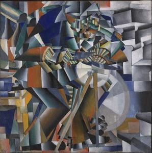 The Knife Grinder or Principle of Glittering, 1912-3 by Kazimir Severinovich Malevich