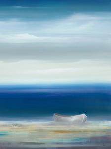 Boat on Shore by Kc Haxton