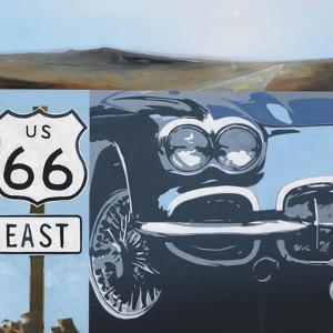 Route 66-A by Kc Haxton