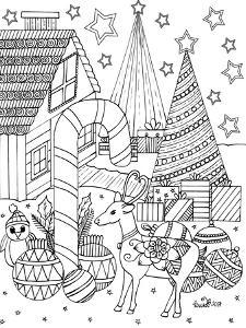 Christmas Trees by KCDoodleArt