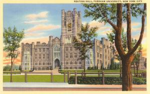 Keating Hall, Fordham University, New York City