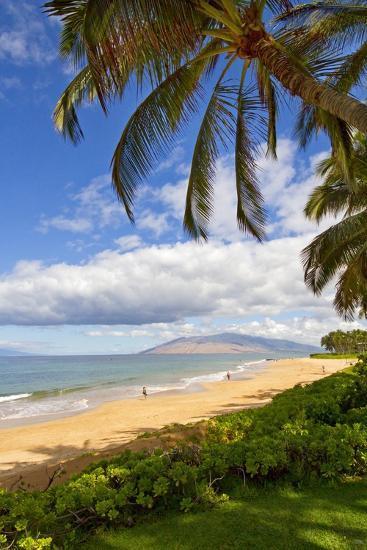Keawakapu Beach, Wailea on Island of Maui, Hawaii-Ron Dahlquist-Photographic Print