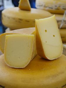 Amsterdam, Holland, Europe- Edam Cheese, Close-Up by Keenpress