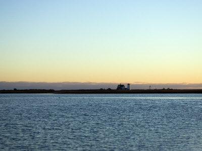 Cape Cod Lighthouse and Bay, Chatham, Massachusetts, United States