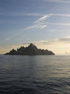 Early Morning View of Little Skellig, Home to Over 20,000 Pairs of Northern Gannets, Morus Bassanus by Keenpress