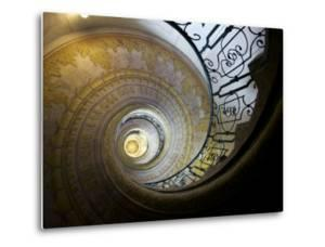 Painted Staircase, Diminishing Perspective, in the Melk Abbey by Keenpress
