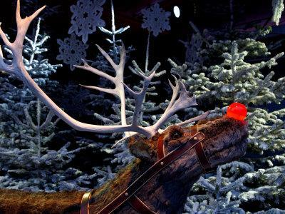 Rudolph with Your Nose So Bright, at Tivoli Gardens, Denmark