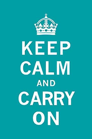 Keep Calm and Carry On-Unknown-Art Print