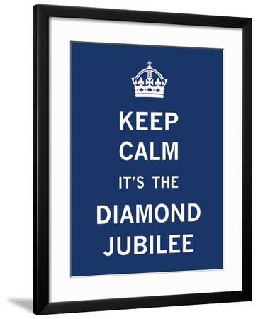 Keep Calm Diamond Jubilee I-The Vintage Collection-Framed Giclee Print