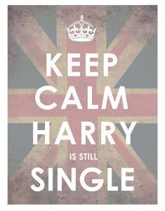 Keep Calm, Harry is Still Single