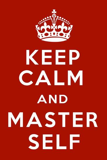 Keep Calm V-Mindy Sommers-Giclee Print