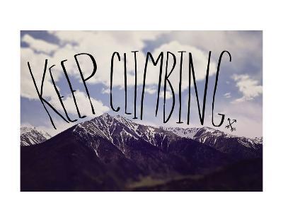 Keep Climbing-Leah Flores-Art Print