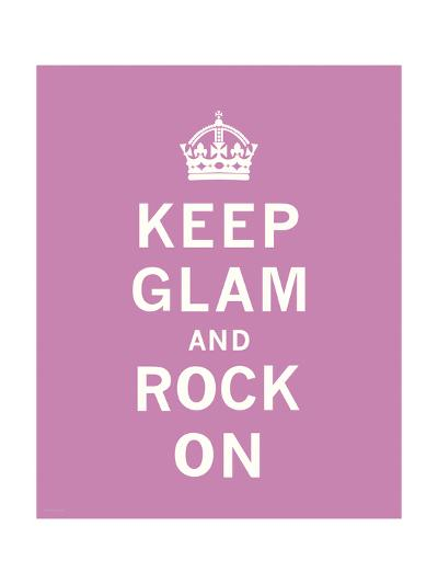 Keep Glam and Rock On-The Vintage Collection-Premium Giclee Print