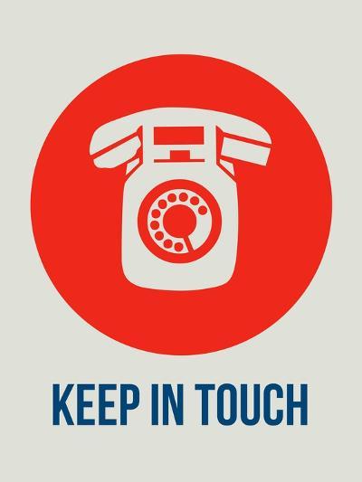 Keep in Touch 1-NaxArt-Art Print