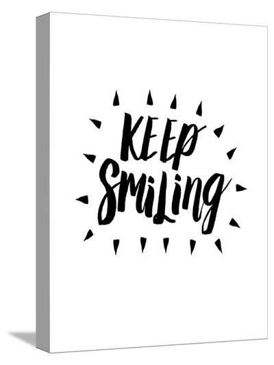 Keep Smiling-Brett Wilson-Stretched Canvas Print