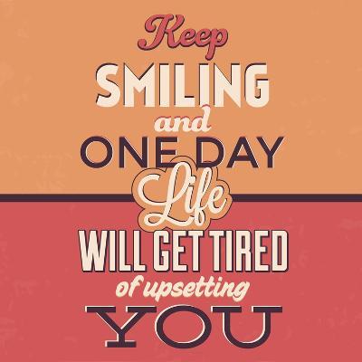 Keep Smiling-Lorand Okos-Art Print