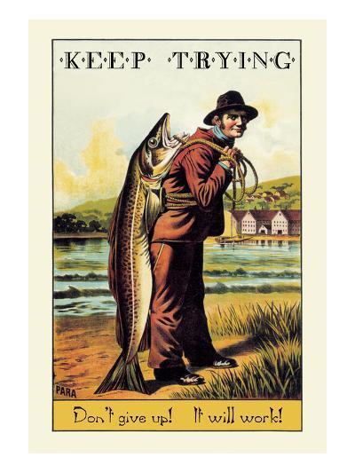 Keep Trying-Wilbur Pierce-Art Print
