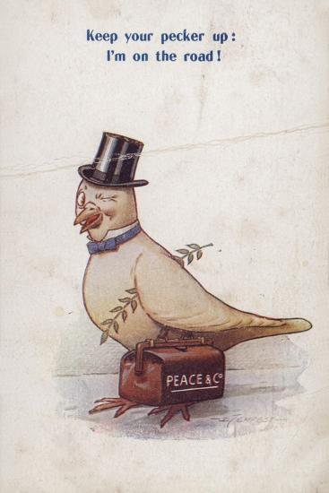 Keep Your Pecker Up: I'm on the Road!--Giclee Print