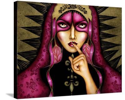 Keeper of Secrets-Cat Ashworth-Stretched Canvas Print