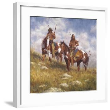 Keepers of the Prairie-James Ayers-Framed Giclee Print