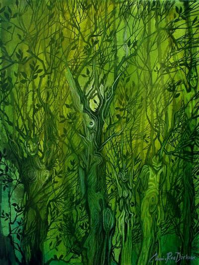Keepers of the Wood-Cherie Roe Dirksen-Giclee Print