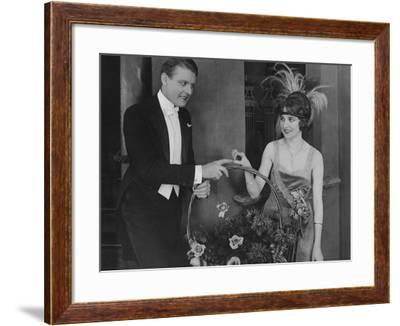 Keeping in Touch--Framed Photo