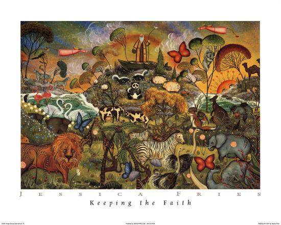 Keeping the Faith-Jessica Fries-Art Print