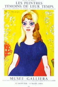 Expo 64 - Musée Galliéra Brigitte Bardot by Kees van Dongen