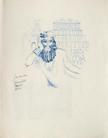La Princesse de Babylone 02 (Essai 1) by Kees van Dongen