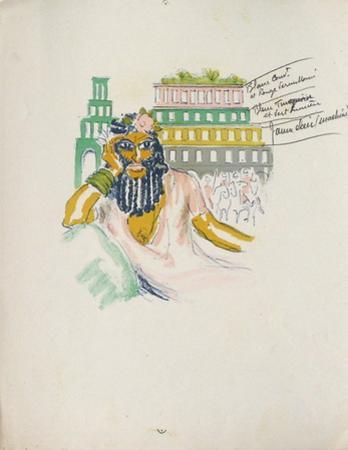 La Princesse de Babylone 02 (Essai 2) by Kees van Dongen