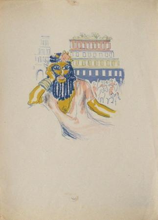 La Princesse de Babylone 02 (Essai 3) by Kees van Dongen
